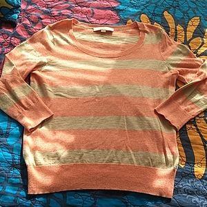 Ann Taylor LOFT small 3/4 sleeve sweater